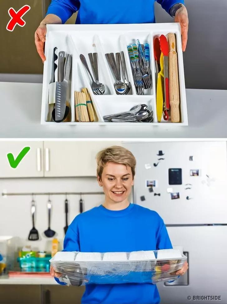 Streç Film Kullanarak Ev İşlerinizi Kolaylaştırabileceğinizi Biliyormuydunuz? İşte O 10 Yöntem 15