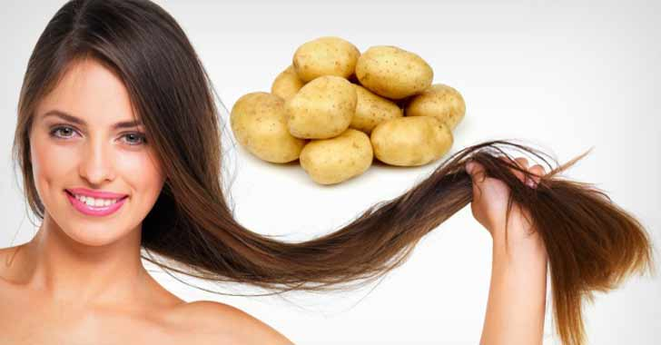 Sadece Patates Kullanarak Beyaz Saçlardan Kurtulabilirsiniz