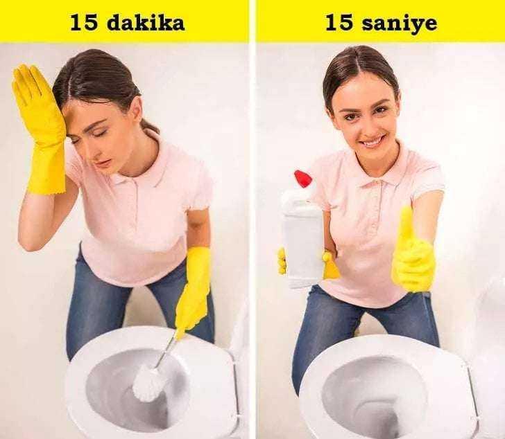 15 Dakikada Evinizi Ter Temiz Yapacağınız Etkili Yöntem 5