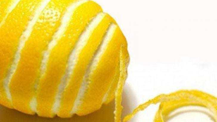 Limon kabuğu kürü ile zayıflama 1