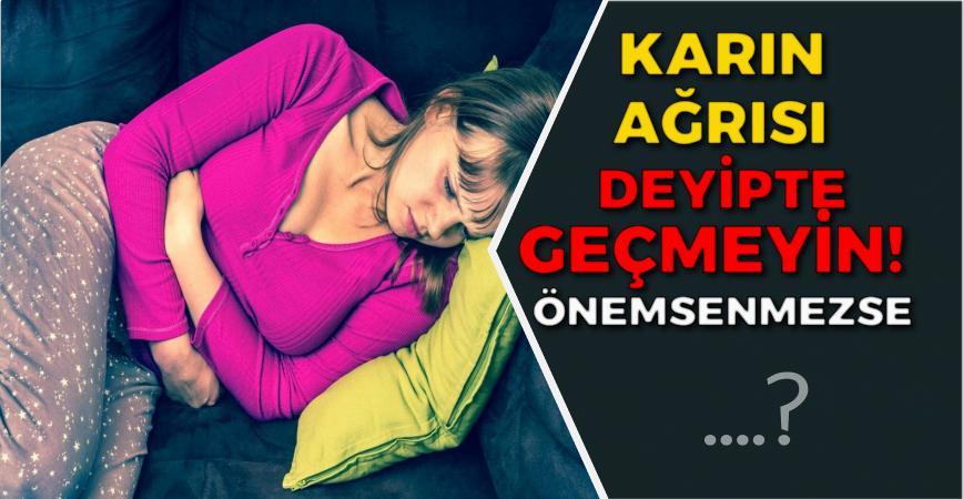 Photo of KARIN AĞRISI DEYİPTE GEÇMEYİN..