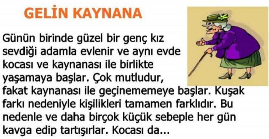 Photo of KAYNANASINI ZE-HİRLEMEK İSTEYEN GELİN