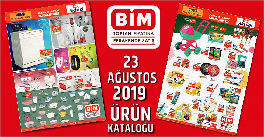 Photo of BİM 23 AĞUSTOS 2019 AKTÜEL ÜRÜNLER KATALOĞU