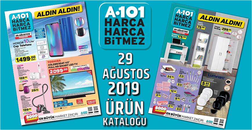 Photo of A-101 29 AĞUSTOS 2019 AKTÜEL ÜRÜNLER KATALOĞU
