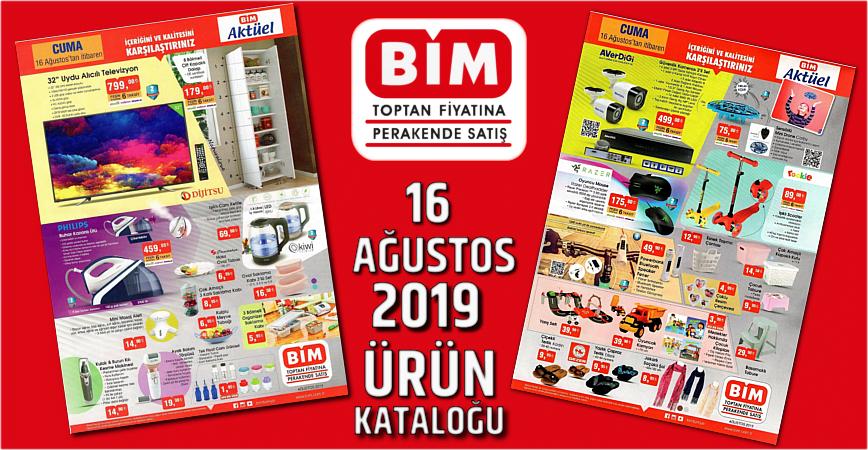 Photo of BİM 16 AĞUSTOS 2019 AKTÜEL ÜRÜNLER KATALOĞU YAYINLANDI