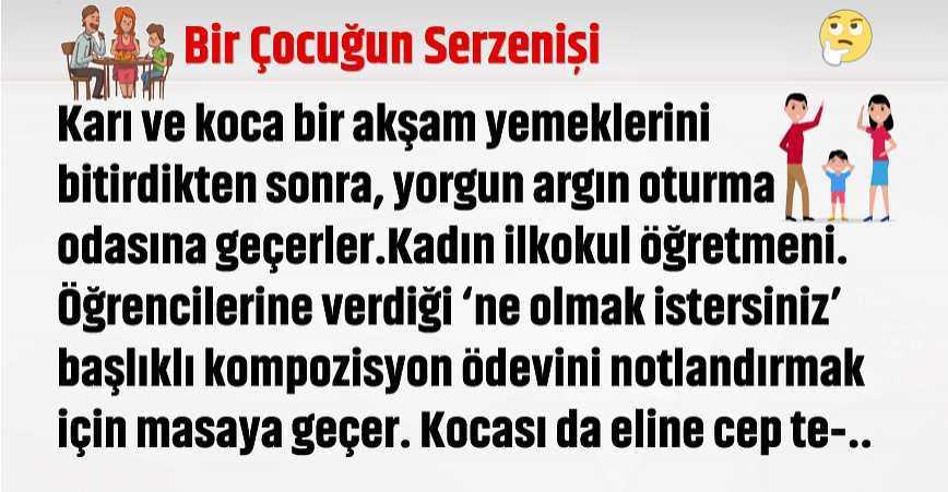 Photo of BİR ÇOCUĞUN HAKLI SERZENİŞİ