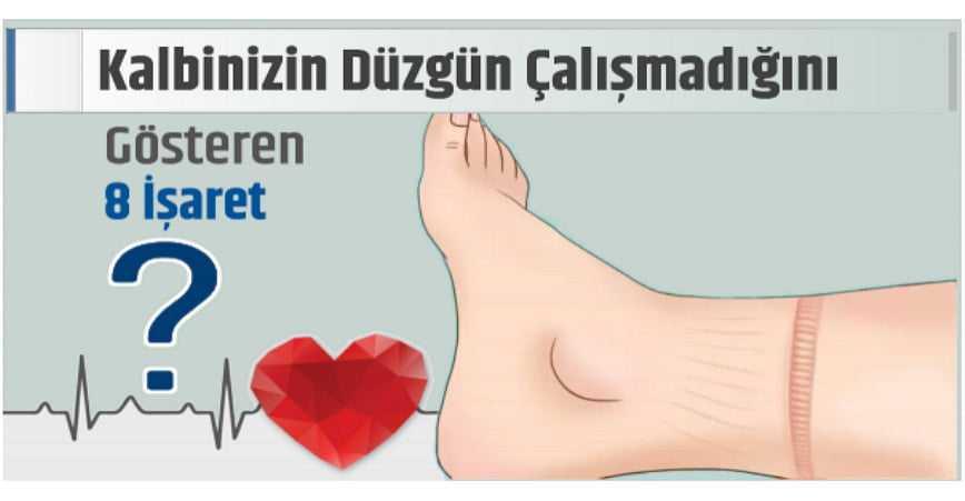 Photo of KALBİNİZİN DÜZGÜN ÇALIŞMADIĞINI GÖSTEREN 8 BELİRTİ!