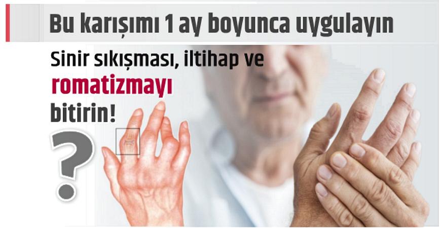 Photo of BU KARIŞIMLA 1 AYDA SİNİR SIKIŞMASI, İLTİHAP VE ROMATİZMAYI BİTİRİN!