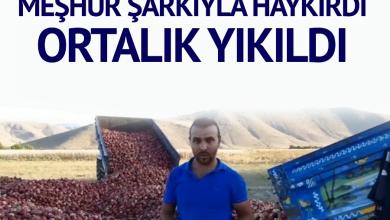 Photo of Çiftçi isyanını meşhur şarkıyla haykırdı, sosyal medya yıkıldı